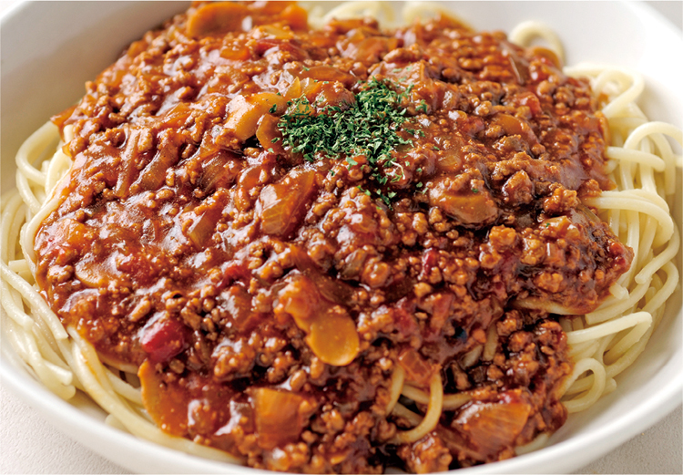じっくり煮込んだミートスパゲティイメージ