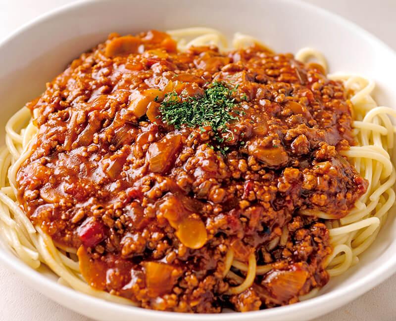 Meat spaghetti Image